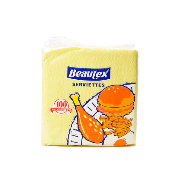 Beautex-Napkins-Yellow